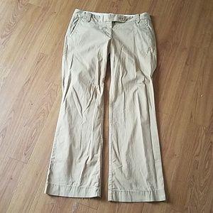 Loft marissa kakhi pants size 6 petite
